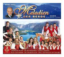 Melodien der Berge-Das Beste (VARIOUS) für 8,99 Euro