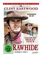 Rawhide - Tausend Meilen Staub - Season 4.1 (DVD) für 23,99 Euro