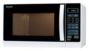 Sharp Home Appliences R-742WW Mikrowelle 900 W Größe: mittel 11 Stufen Grill für 109,00 Euro