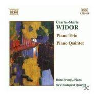 WIDOR:PIANO TRIO&PIANO QUINTET (New Budapest Quartet Ilona Prunyi) für 8,99 Euro