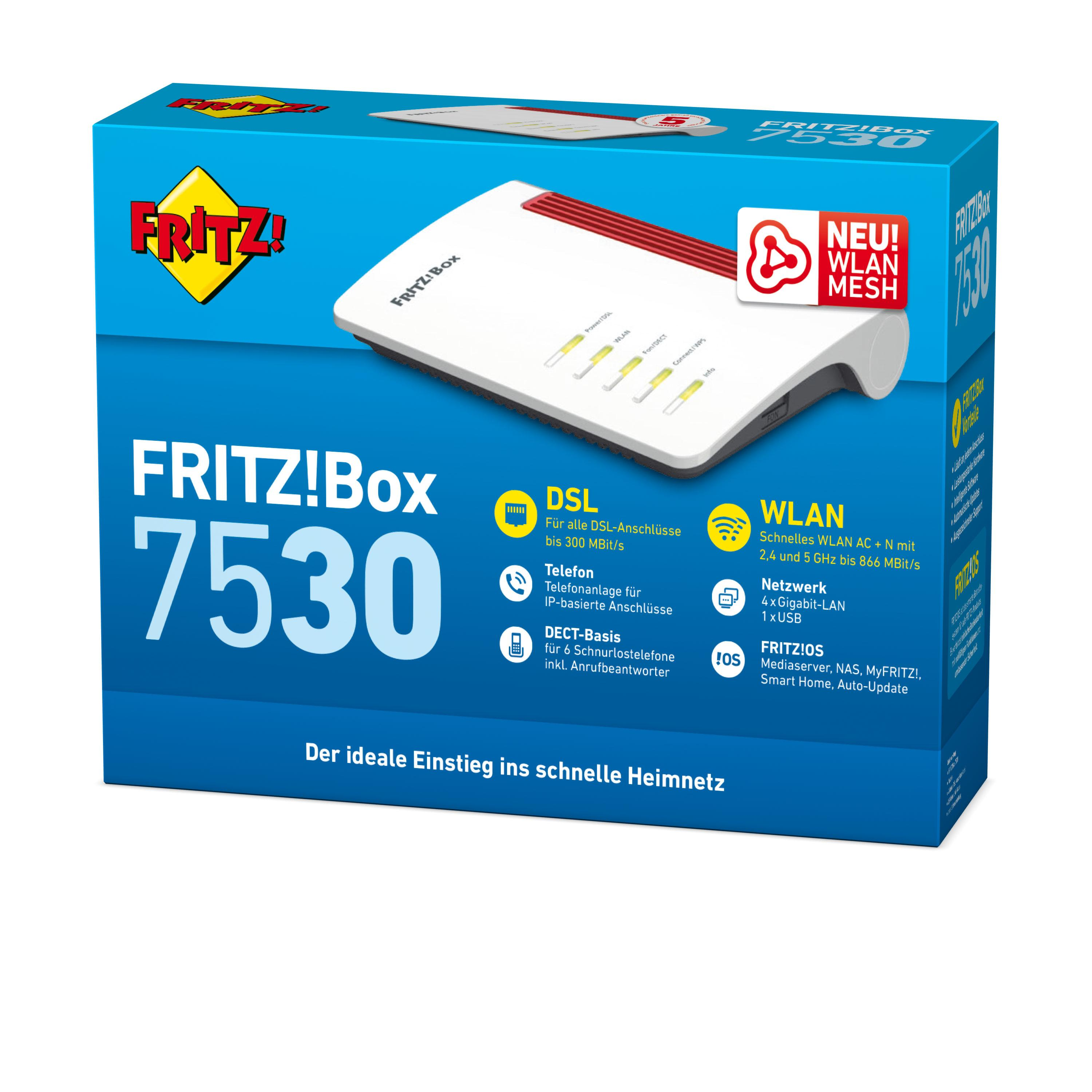 AVM FRITZBox 200 Wi Fi 200 200.200ac Router Dual Band 20,20 GHz/200 ...