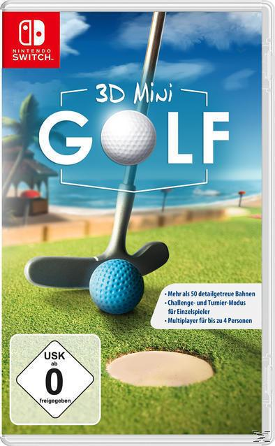 3D Mini Golf (Software Pyramide) (Nintendo Switch)