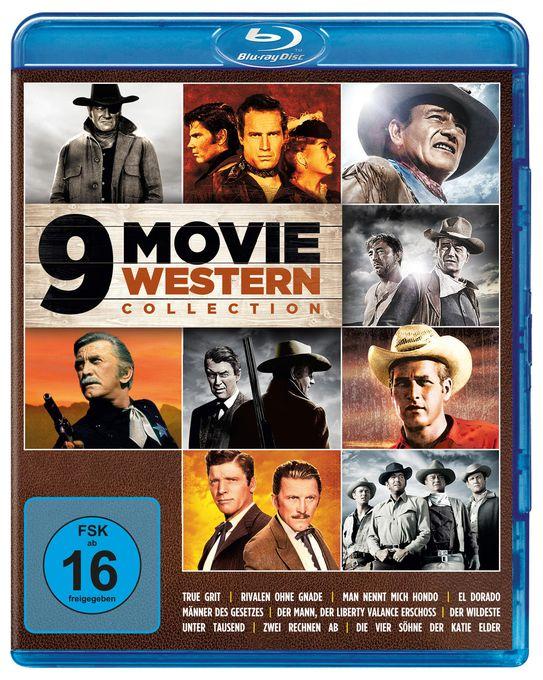 9 Movie Western Collection - Vol. 1 BLU-RAY Box (BLU-RAY)