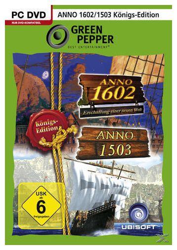 Anno 1503 Königsedition + Anno 1602 Königsedition (Green Pepper) (PC)