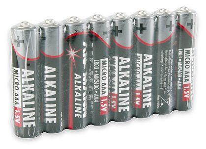 Alkaline-Batterie Micro AAA LR03 1,5V 8er Pack