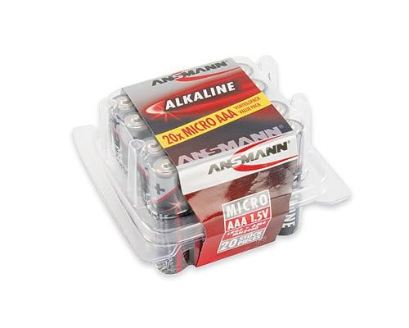 Alkaline-Batterie Micro AAA LR03 1,5V 20er Box