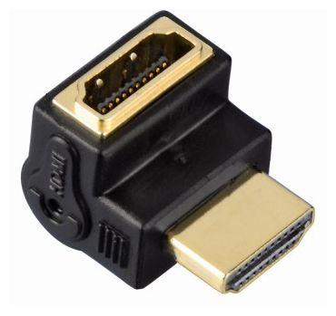 00127089 High Speed HDMI™-Winkeladapter Stecker - Kupplung UP 90°