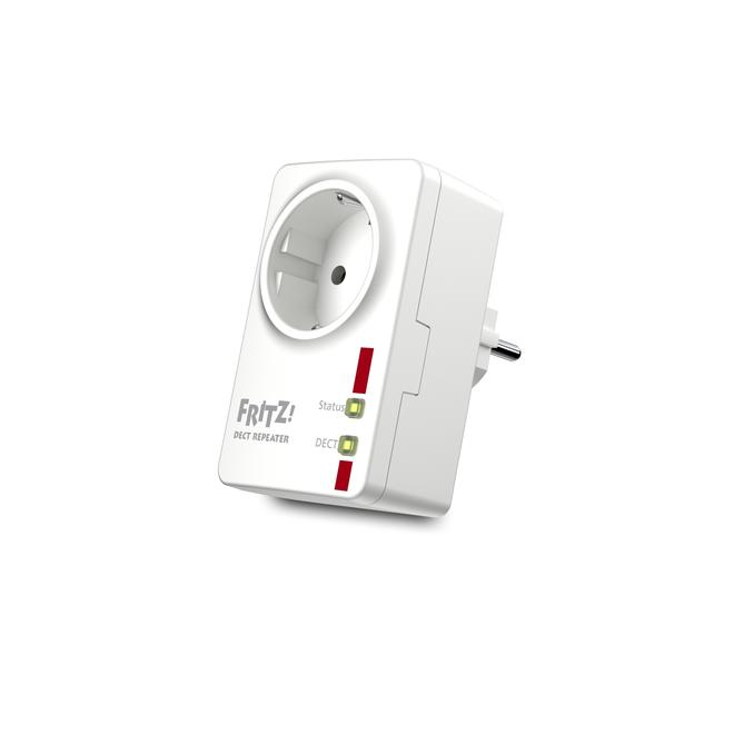 FRITZ!DECT Repeater 100 integrierte Steckdose