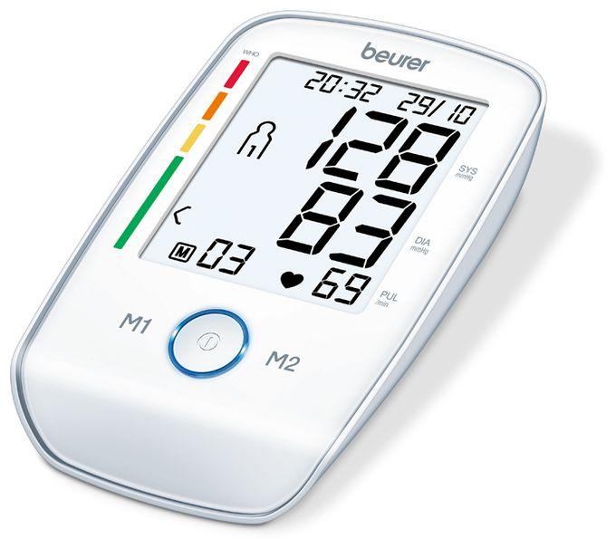 BM 45 Oberarm-Blutdruckmessgerät 2x60 Speicherplätze XL-Display