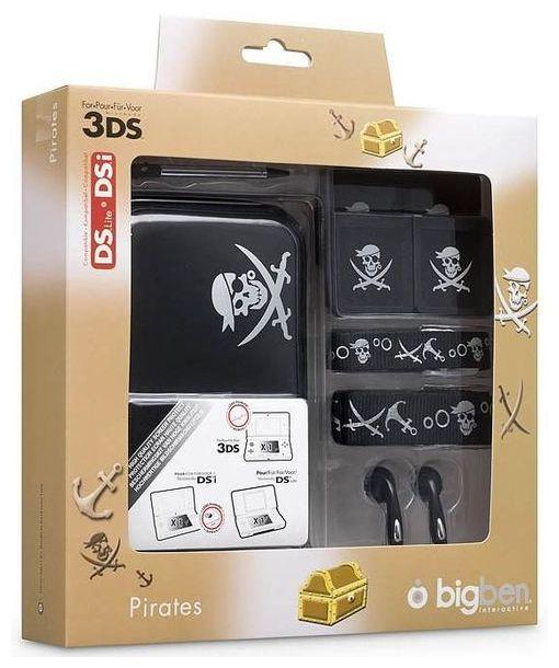 3DS XL Piraten Zubehörpaket