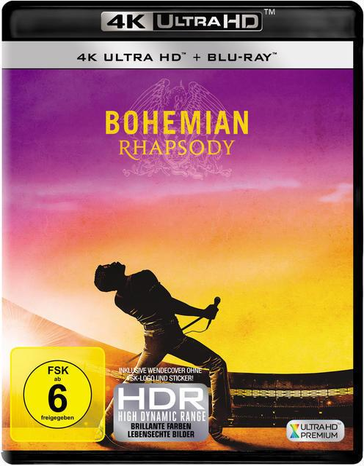 Bohemian Rhapsody - 2 Disc Bluray (4K Ultra HD BLU-RAY + BLU-RAY)