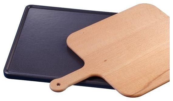 HEZ327000 Keramikbackstein mit Holzschieber für Backöfen