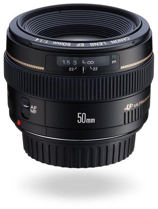 EF 50mm 1:1,4 USM Festbrennweiten-Objektiv