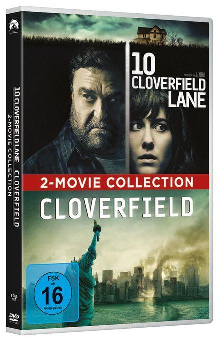 Cloverfield & 10 Cloverfield Lane - 2 Disc DVD (DVD)