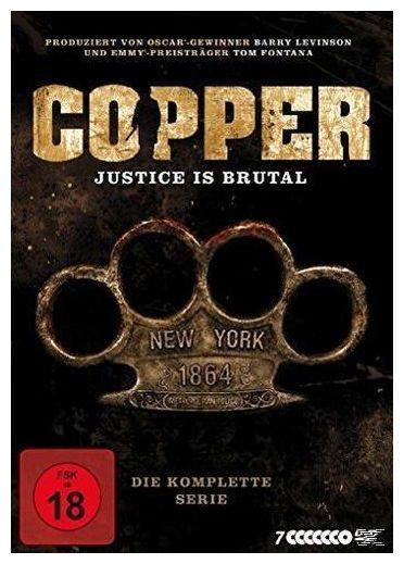 Copper - Justice is brutal. Die komplette Serie (DVD)