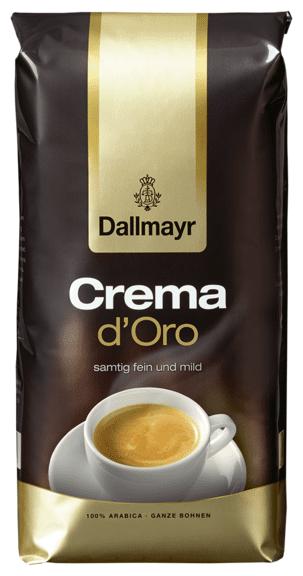 Crema d´Oro 1kg edelste Hochland-Kaffeebohnen