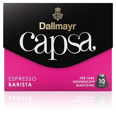 Capsa Espresso Barista Kaffeekapseln Intensität: 8 10 Kapseln