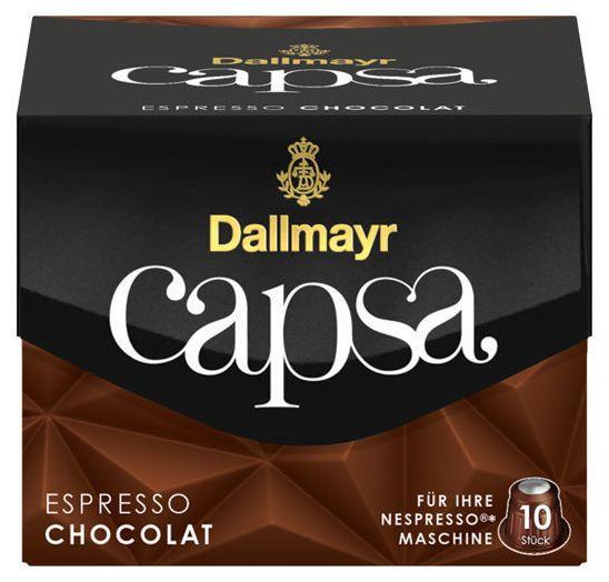 Capsa Espresso Chocolat Kaffeekapseln Intensität: 5 10 Stück