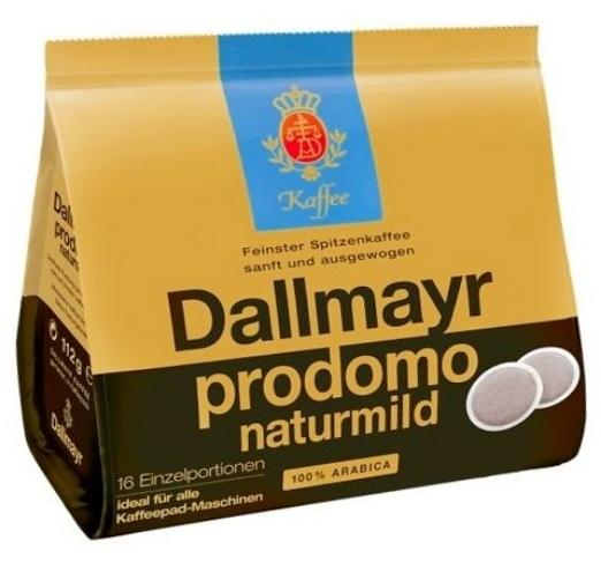 Prodomo Naturmild Kaffeepads 100% Arabica 16 Einzelportionen