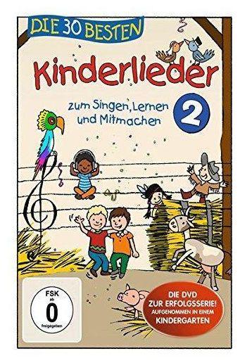 Die 30 besten Kinderlieder 2 (DVD)