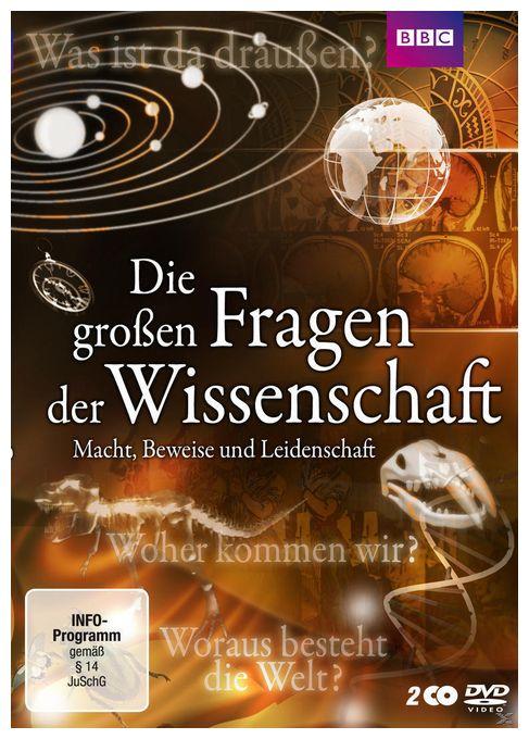 Die großen Fragen der Wissenschaft - Macht, Beweise und Leidenschaft (DVD)