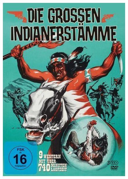Die großen Indianerstämme DVD-Box (DVD)