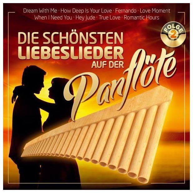 Die schönsten Liebeslieder auf der Panflöte F.2 (Ria)
