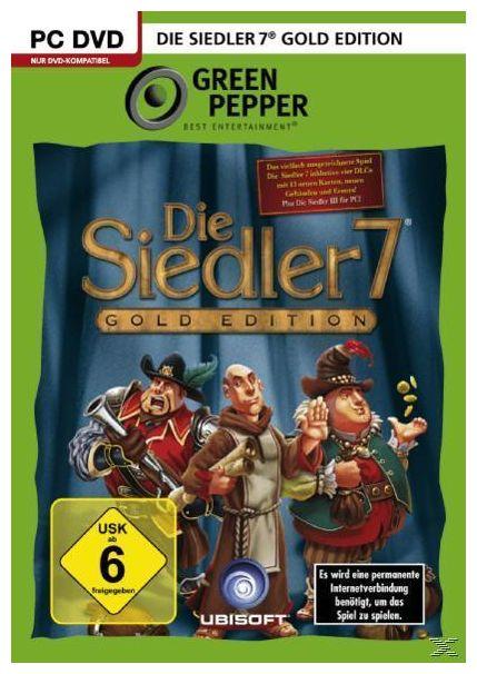 Die Siedler 7 - Gold Edition (Green Pepper) (PC)