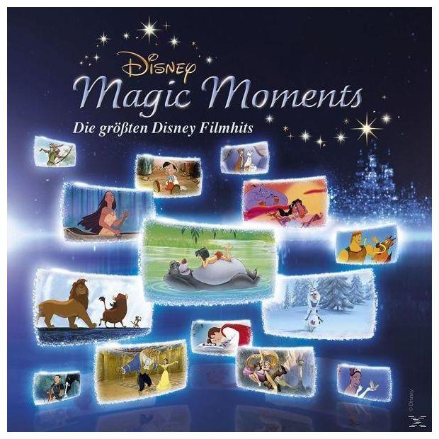 Disney Magic Moments-Die Größten Disney Filmhits (OST/VARIOUS)