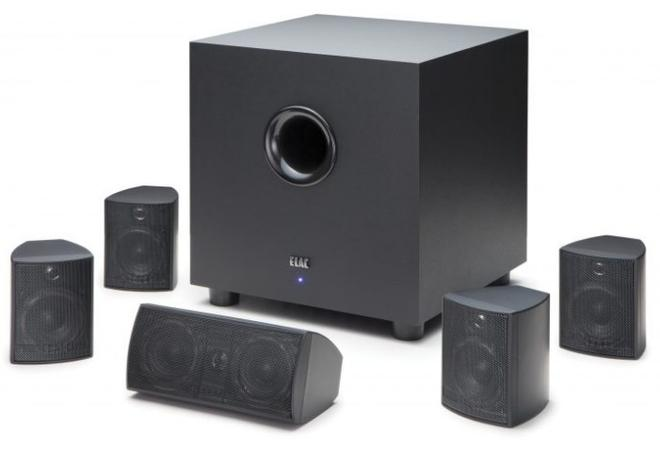 CINEMA 5 5.1-Heimkino-Set mit aktivem Subwoofer