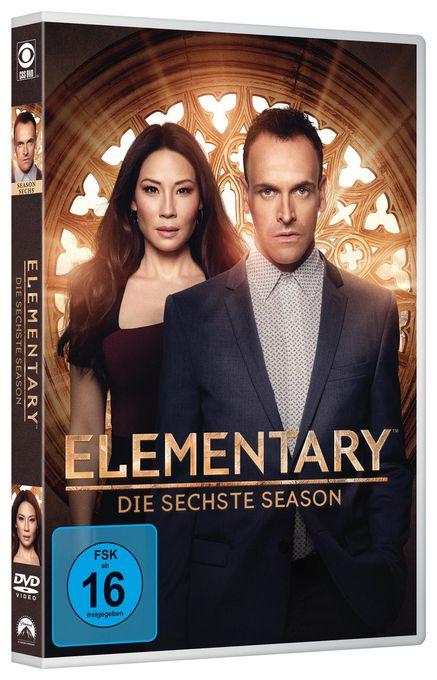 Elementary - Season 6 DVD-Box (DVD)