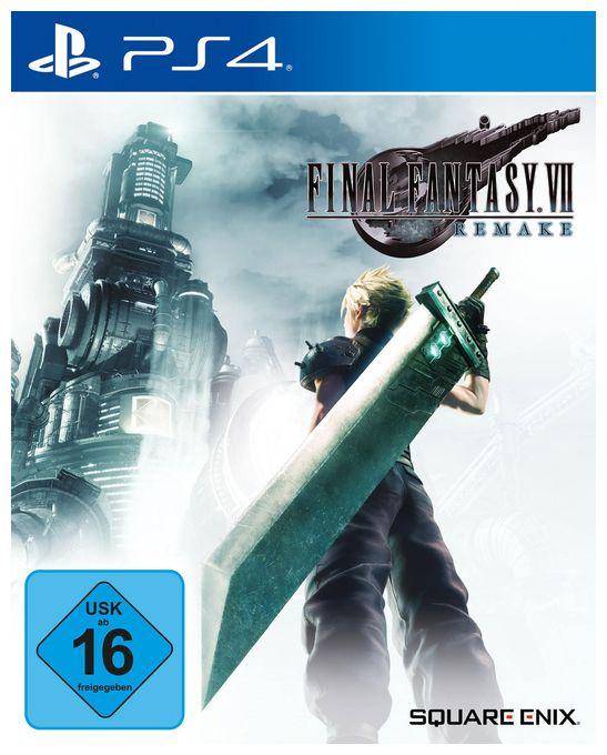 Final Fantasy VII HD Remake (PlayStation 4)