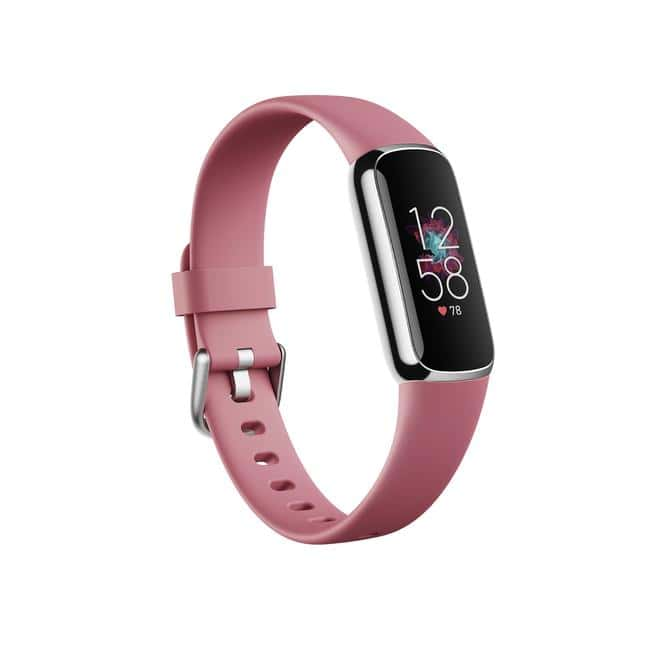 Luxe OLED Fitnesstracker S/L Laufzeit bis: 5 Tag(e) Pink, Platin