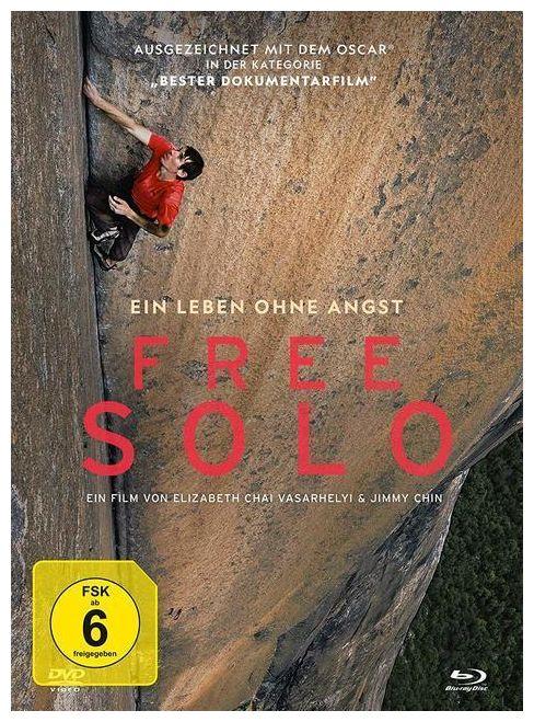 Free Solo Mediabook (BLU-RAY + DVD)