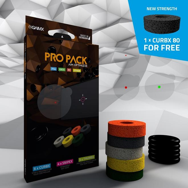Pro-Pack inkl. SNIPEX, THUMX, CURBX Zielhilfe-Set PS4 & Xbox Controller