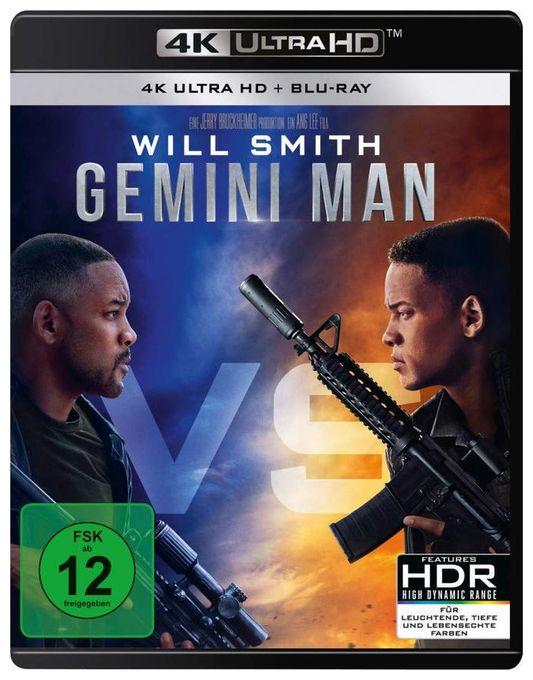 Gemini Man - 2 Disc Bluray (4K Ultra HD BLU-RAY + BLU-RAY)