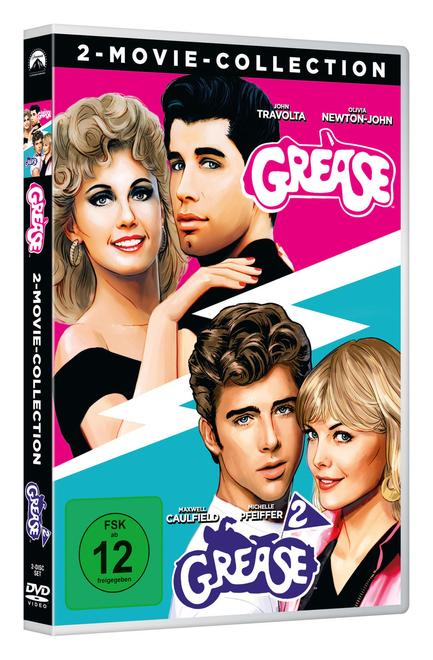 Grease + Grease 2 - 2 Disc DVD (DVD)