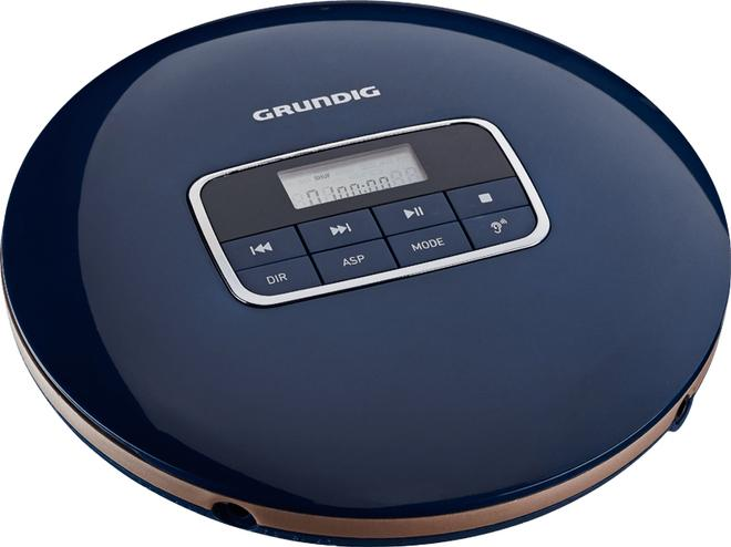 GCDP 8000 Portable CD-Player Stereo-Kopfhörer Anti-Shock-System Triton