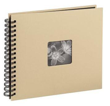 """00010609 Spiral-Album """"Fine Art"""" 36x32cm 50 schwarze Seiten"""