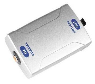 00042906 Digital-Konverter Koax IN/Optical OUT ODT (Toslink)