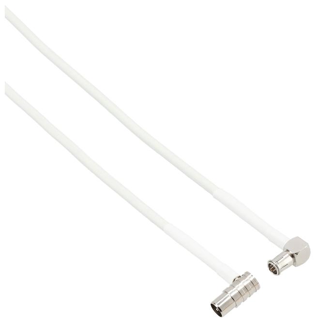 122169 Breitband-Anschlusskabel 9m Weiß