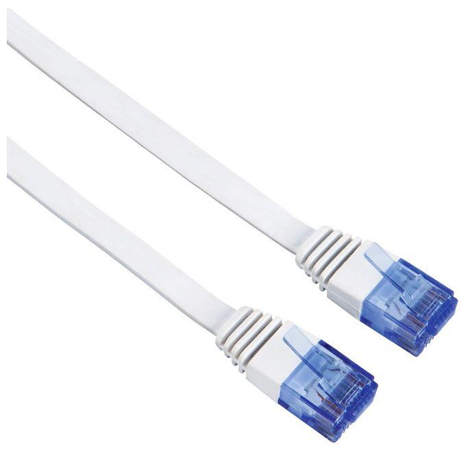 00053773 CAT-6-Netzwerkkabel UTP flach 5m