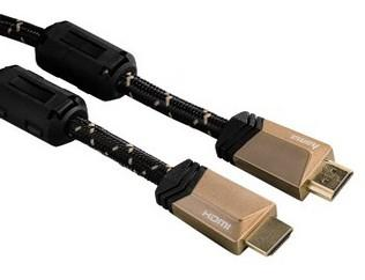 00122126 High Speed HDMI™-Kabel St. - Stecker Ferrit Metall Ethernet 5,0 m
