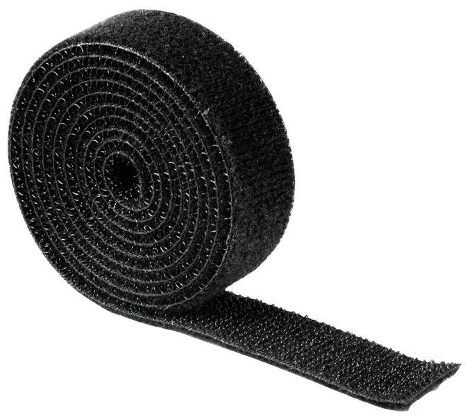 00020543 Klettband universell 1 m Schwarz