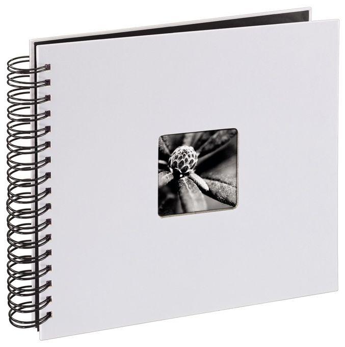 """00002108 Spiral-Album """"Fine Art"""" 28x24cm 50 schwarze Seiten"""