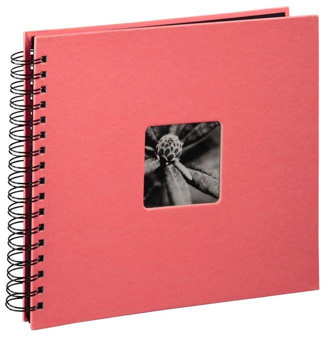 """00002556 Spiral-Album """"Fine Art"""" 28x24cm 50 schwarze Seiten"""