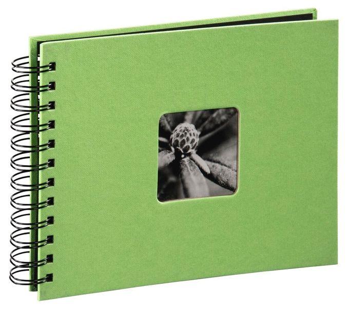 """00002557 Spiral-Album """"Fine Art"""" 24x17cm 50 schwarze Seiten"""