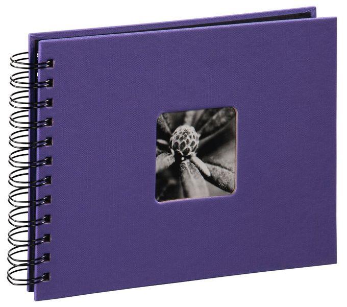"""00002561 Spiral-Album """"Fine Art"""" 24x17cm 50 schwarze Seiten"""