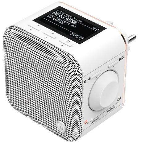 "00054868 Internetradio ""IR40MBT-PlugIn"" Multiroom Bluetooth"