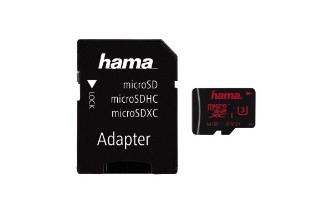 00123982 microSDXC 64GB UHS Speed Class 3 UHS-I 80MB/s + Adapter/Foto